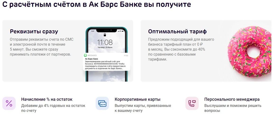 """Банк """"Ак Барс"""": как открыть расчетный счет для ИП и ООО – тарифы, акции, список документов, отзывы"""